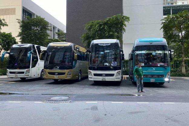 Dịch vụ cho thuê xe Hyundai Universe 45 chỗ tại TPHCM