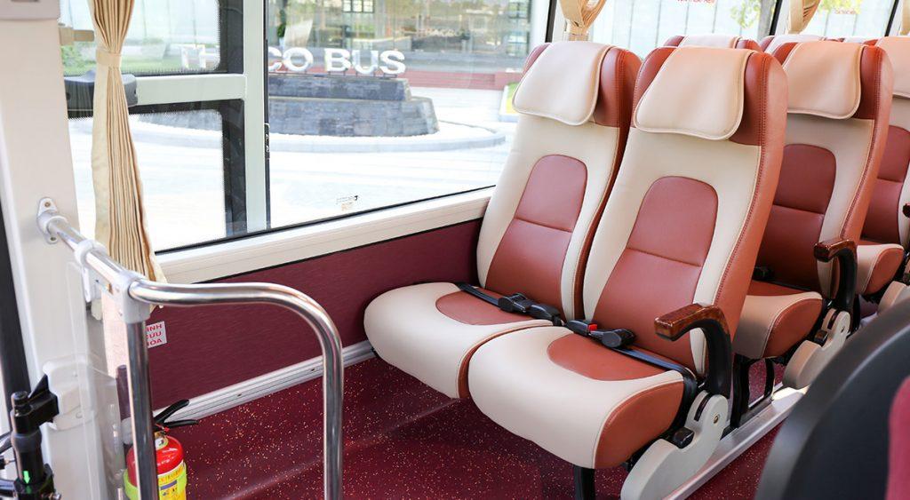 ghế xe thaco 29 chỗ