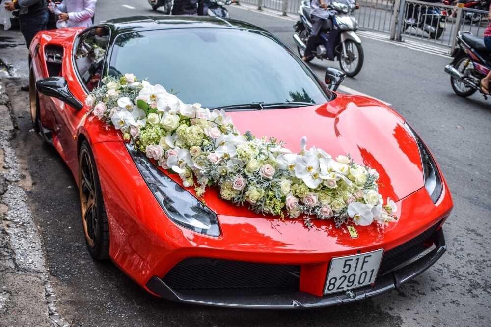 thuê xe hoa siêu sang