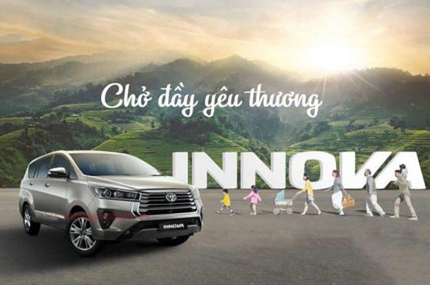 Dịch vụ cho thuê xe Innova 7 chỗ có tài xế TPHCM