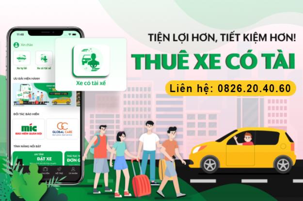 Dịch vụ cho thuê xe du lịch có tài xế ở TPHCM giá rẻ