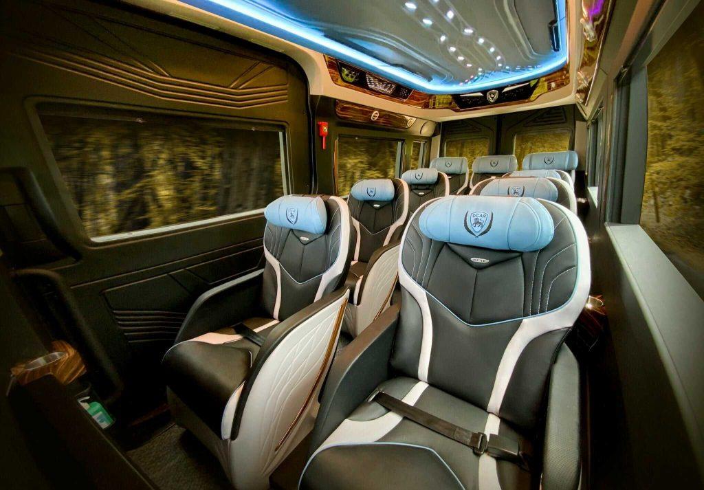 nội thất xe limousine